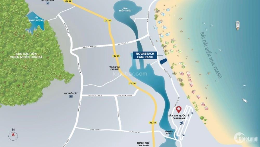 Chỉ từ 400 triệu sở hữu căn hộ du lịch Novabeach - Đơn vị quốc tế vận hành.