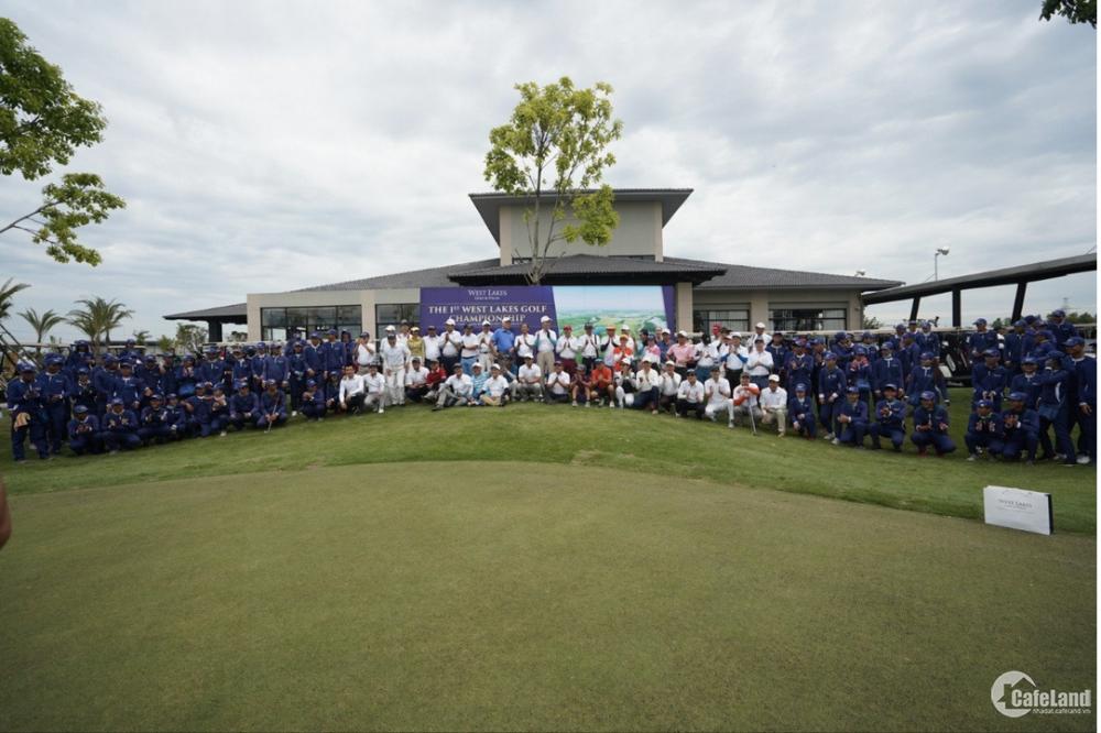 West lakes golf and villas chính thức nhận giữ chổ giai đoạn 1. CKTL