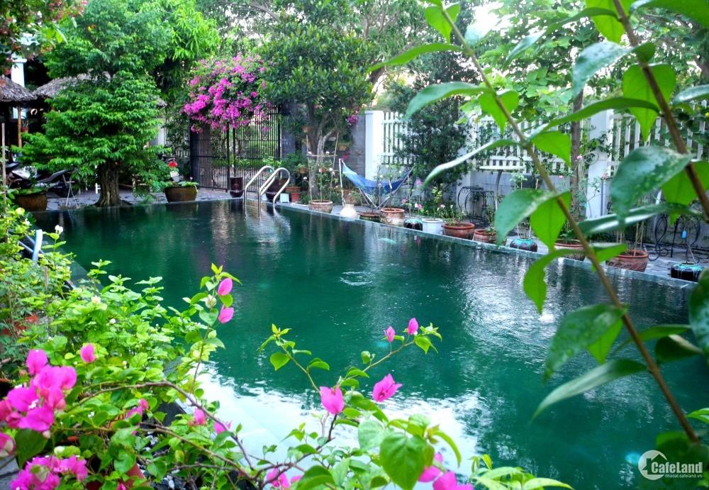 Biệt thự Hội An có hồ bơi sân vườn đẹp, 9 phòng 387m2