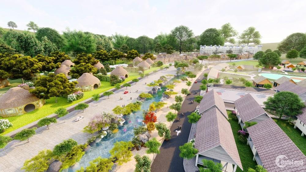 Săn ngay BT nghỉ dưỡng SHR sở hữu lâu dài chỉ có tại Eco Villa Bình Châu, CK13%