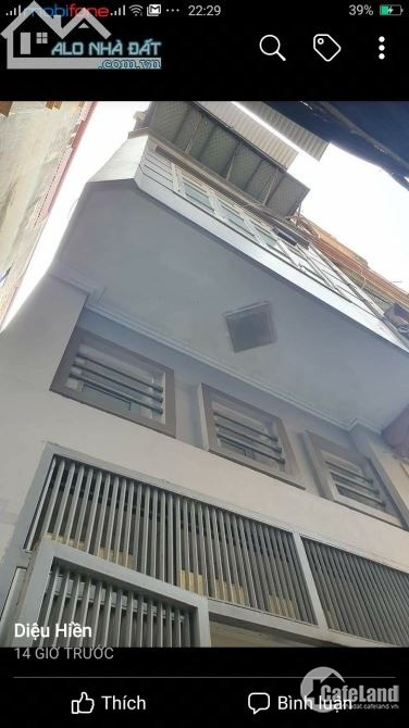 Bán nhà riêng phố Ngọc Khánh, Ba Đình diện tích 30m2, 4 tầng, giá 3,65 tỷ.
