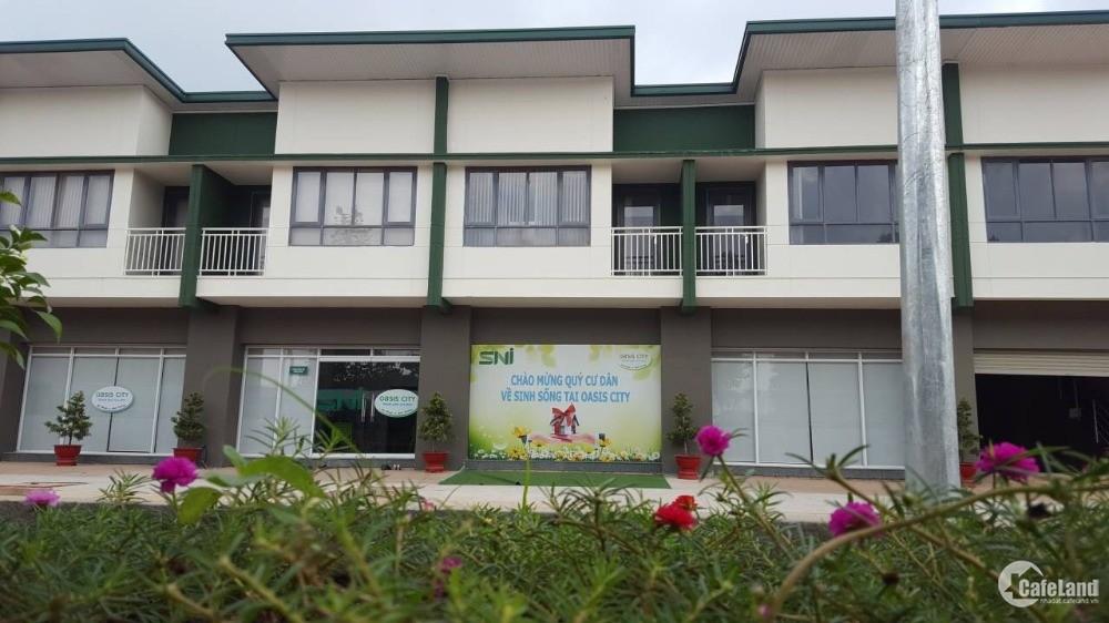 Mua nhà Phố khu làng chuyên gia Oasis City Mỹ Phước nhận ngay xe SH, Bình Dương