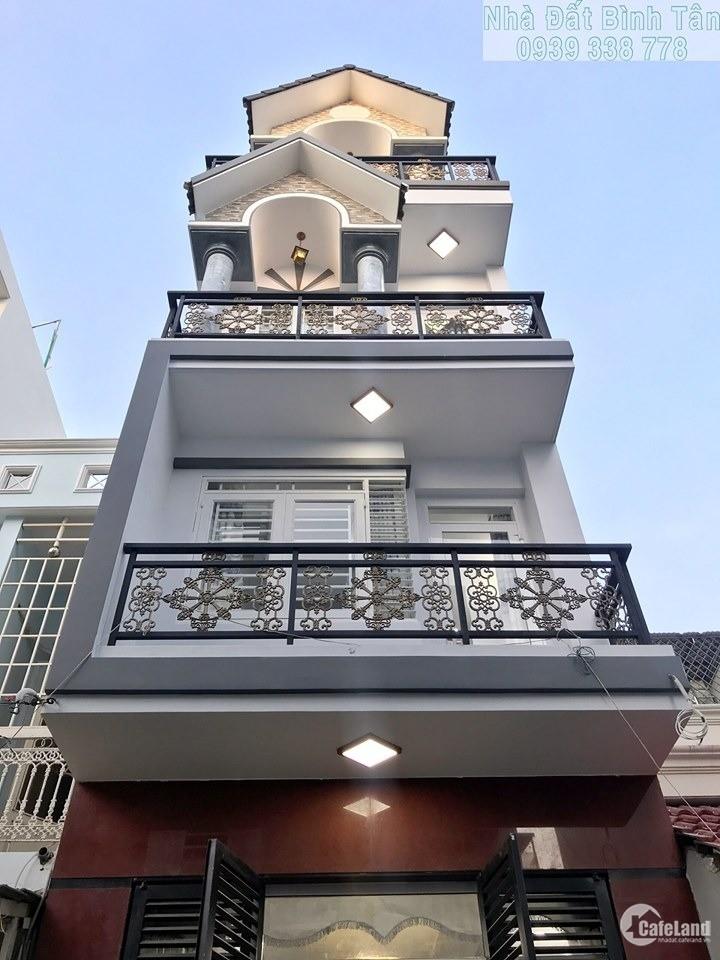 Bán Gấp nhà mặt tiền Nguyễn Văn Thương, DT: 4x14m, Xây 1 trệt 2 lầu, giá 15 tỷ