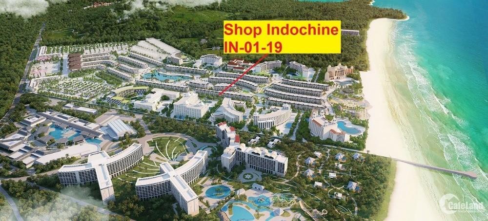 Chỉ 4 tỷ 714 triệu sở hữu ngay căn shop IN - 01 - 19 The Indochine Phú Quốc