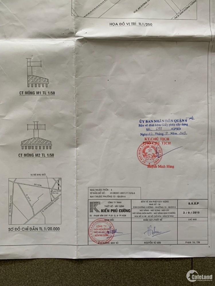 Bán nhà Mặt Tiền Kinh Dương Vương Trung Tâm Q6