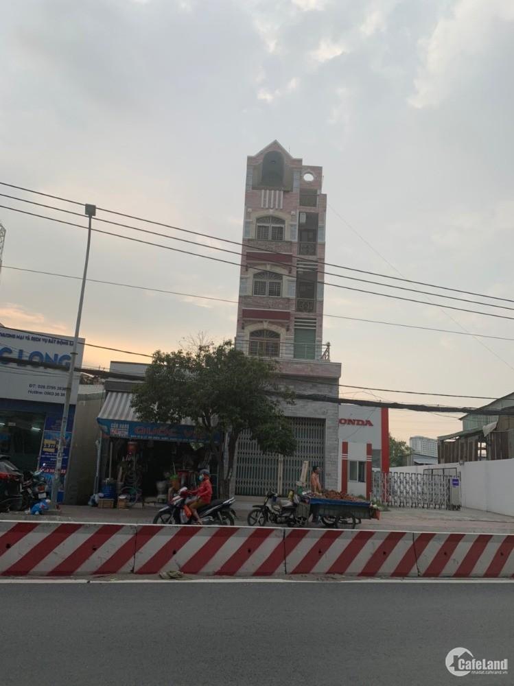 Chốt nhanh nhà Mặt tiền 5 tầng 8PN 1268 Huỳnh Tấn Phát, p.Phú Mỹ, Quận 7
