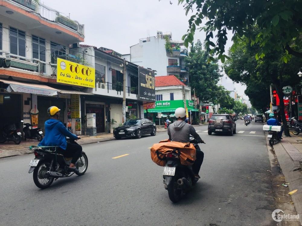 Bán nhà mặt tiền Trương Vĩnh Ký, phường Tân Thành,3.8x19, nhà 2 lầu, sân thượng.