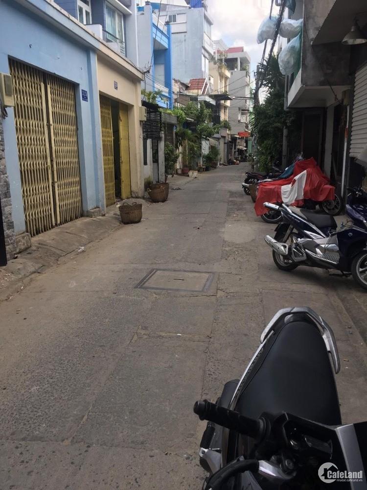 Bán nhà hẻm 5m thông  Độc Lập ra Gò Dầu  Q.Tân Phú  DT  4.3x18  cấp 4  giá 5.6tỷ