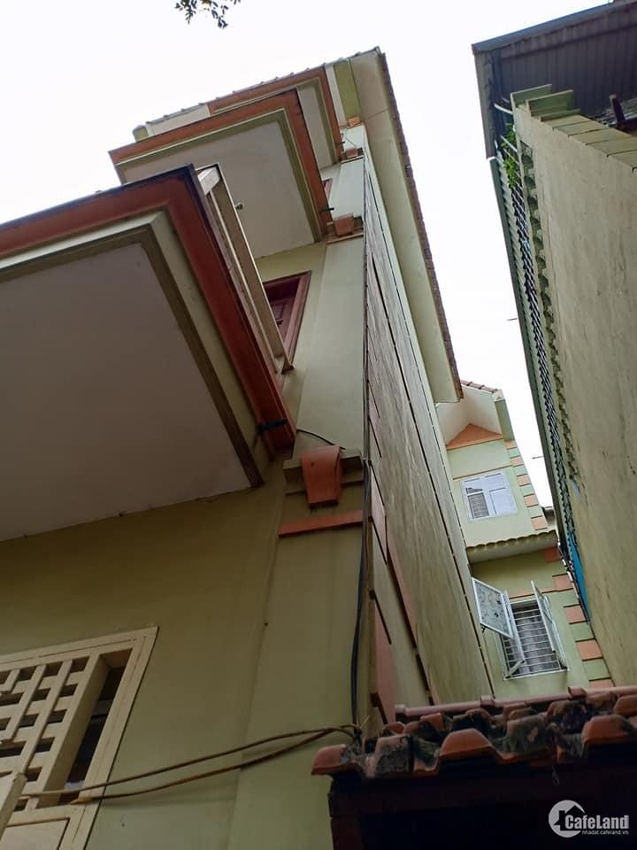 Bán nhà Hoàng Mai, 36m, ô tô qua cửa, 5 tầng, giá 3.65 t