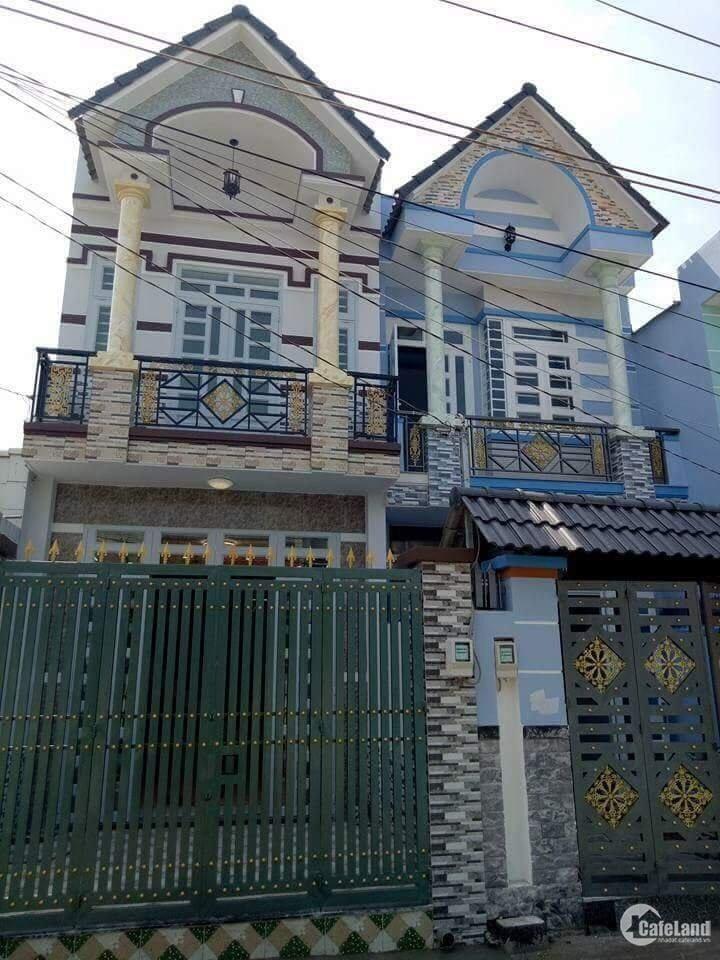 Sát Tết gia đình cần tiền muốn bán lại nhà 1 trệt 1 lầu ở Trần Văn Mười-Hóc Môn