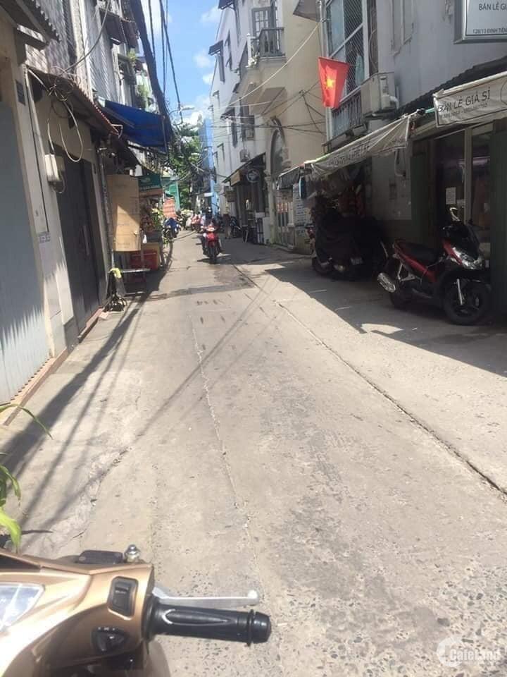 Nhà Sân Vườn, 3M Hẻm Thông, Đường Hòa Hưng, 52m2, giá 5 tỷ TL
