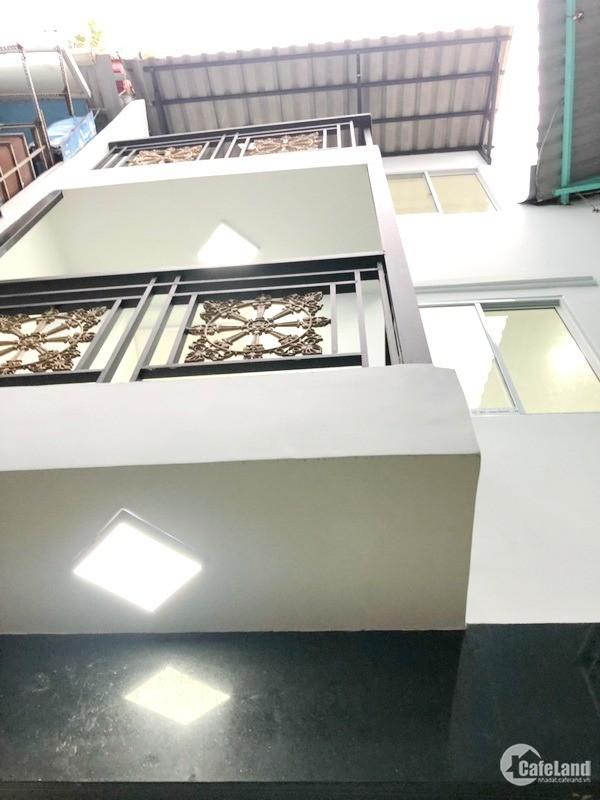 Bán nhà 2 lầu mới hẻm 60 Lâm Văn Bền quận 7.