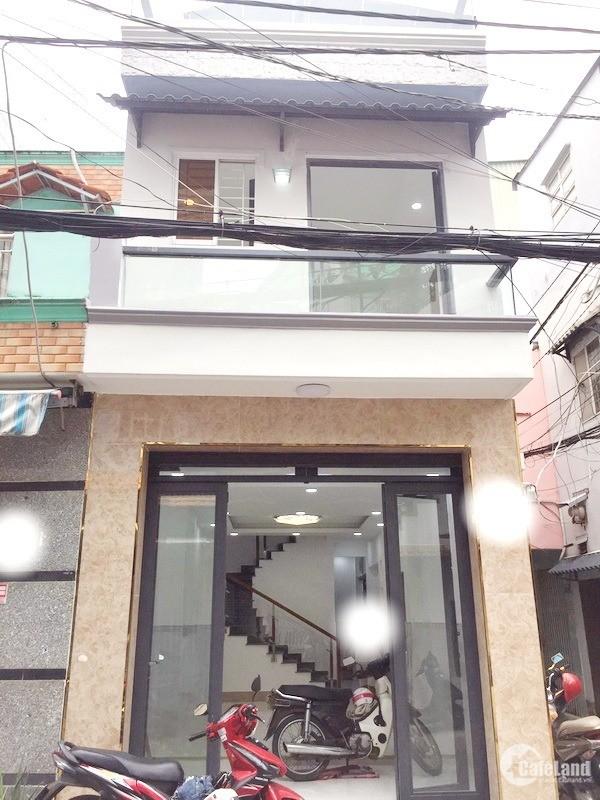 Bán nhà 2 lầu mới đẹp góc 2 mặt tiền hẻm 30 Lâm Văn Bền quận 7 (hẻm Mai Lan).