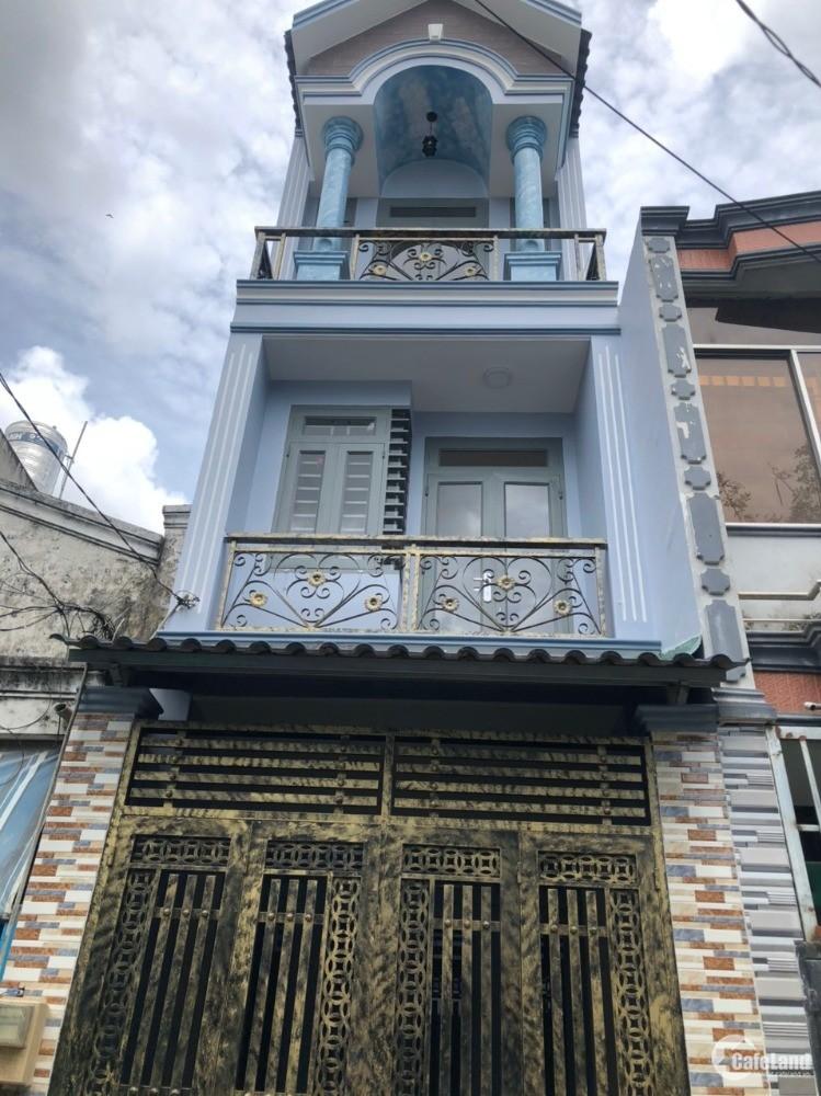 Nhà Chính Chủ Bình Trị Đông A 1 tỷ 830 SHCC Mới Xây Nhà Đúc.