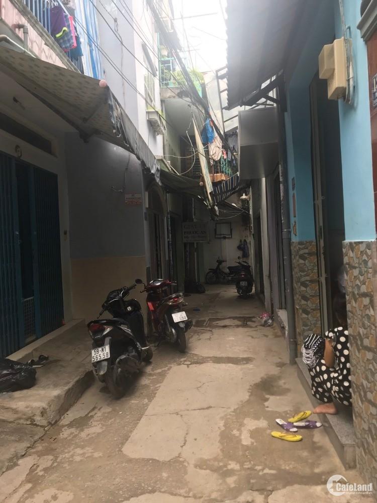 Bán nhà hẻm 8m phường 9 quận Tân Bình có Thu Nhập sẵn 45tr/t giá 8 tỷ