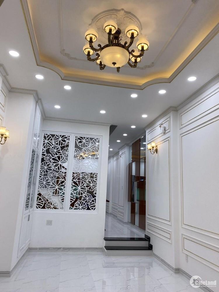 Bán nhà mới xây 100% đẹp lung linh HXH  Vườn Lài Q.Tân Phú  4x18  Đúc 3 Lầu NTCC