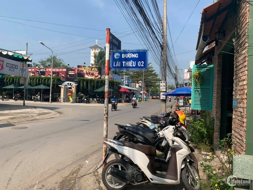 Bán nhà đang kinh doanh Cafe gốc đường Lái Thiêu, Bình Dương.