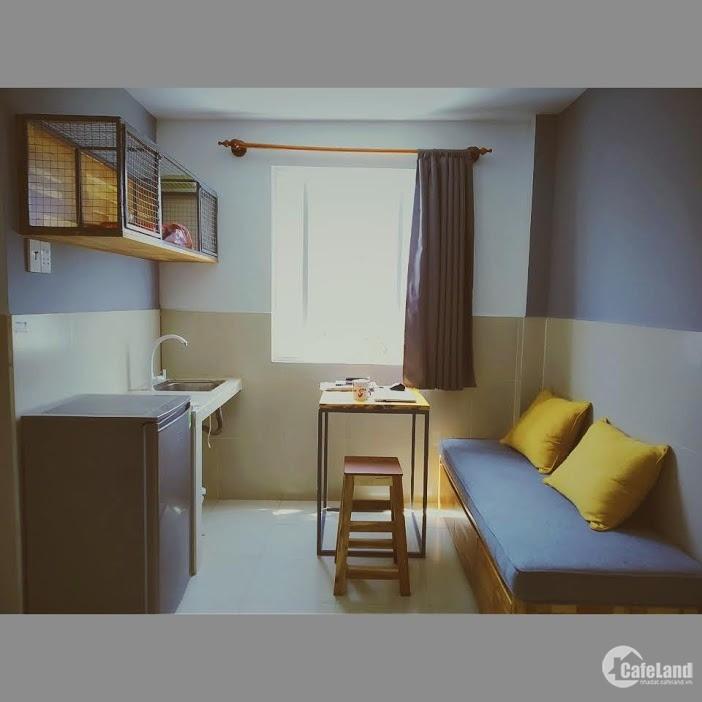 Cho thuê căn hộ mini cách quận nhất 1km đầy đủ nội thất tiện nghi