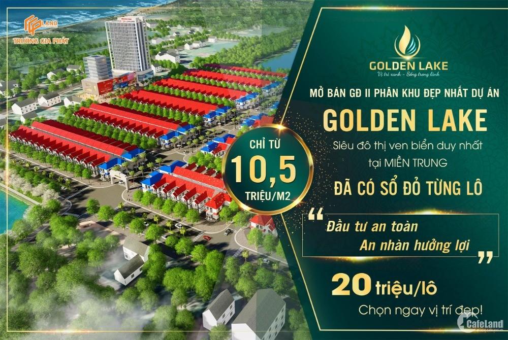 20Triệu - Đặt chỗ có vị trí KĐT Golden Lake Quảng Bình - Chi tiết LH 0345.012341