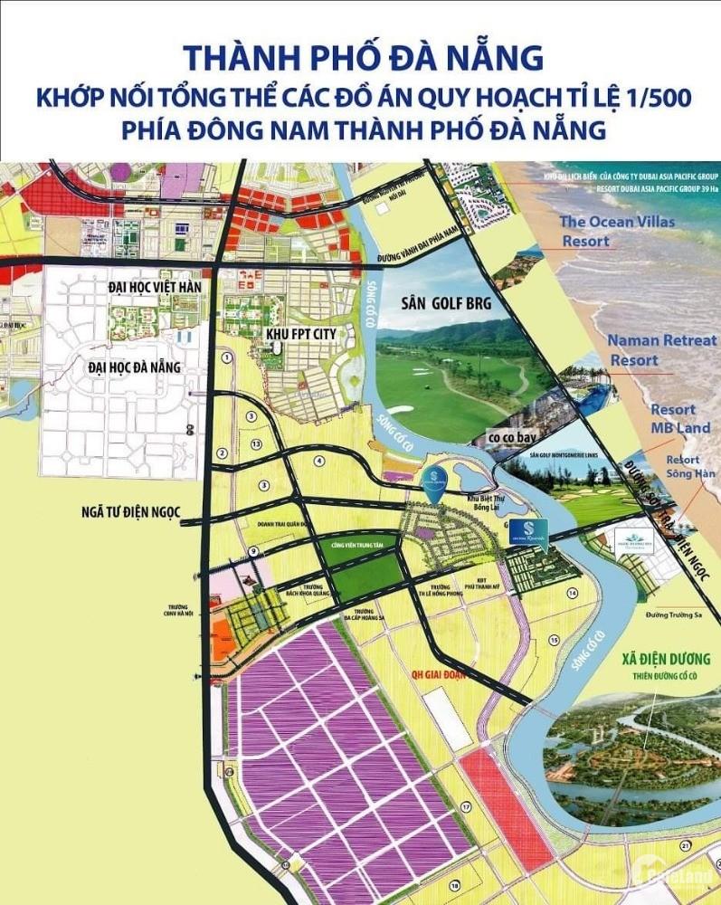 bán đất nền khu đô thị 7b, cạnh trường học, giá 15tr/m2, đường 7m5
