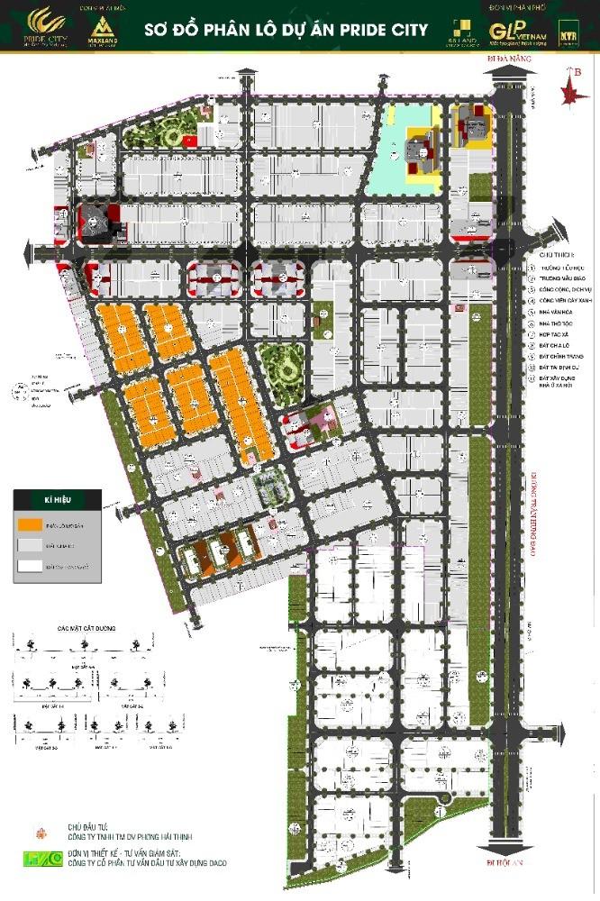Đất nền trung tâm Điện Ngọc dự án Pride City phân khúc giá 14 triệu/m2
