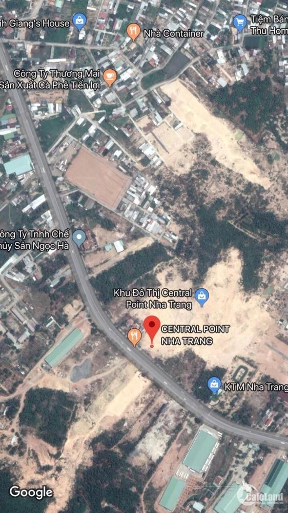 Bán đất nền sổ đỏ mặt tiền Nguyễn Tất Thành liền kề Diamond Bay giá 14tr/m2