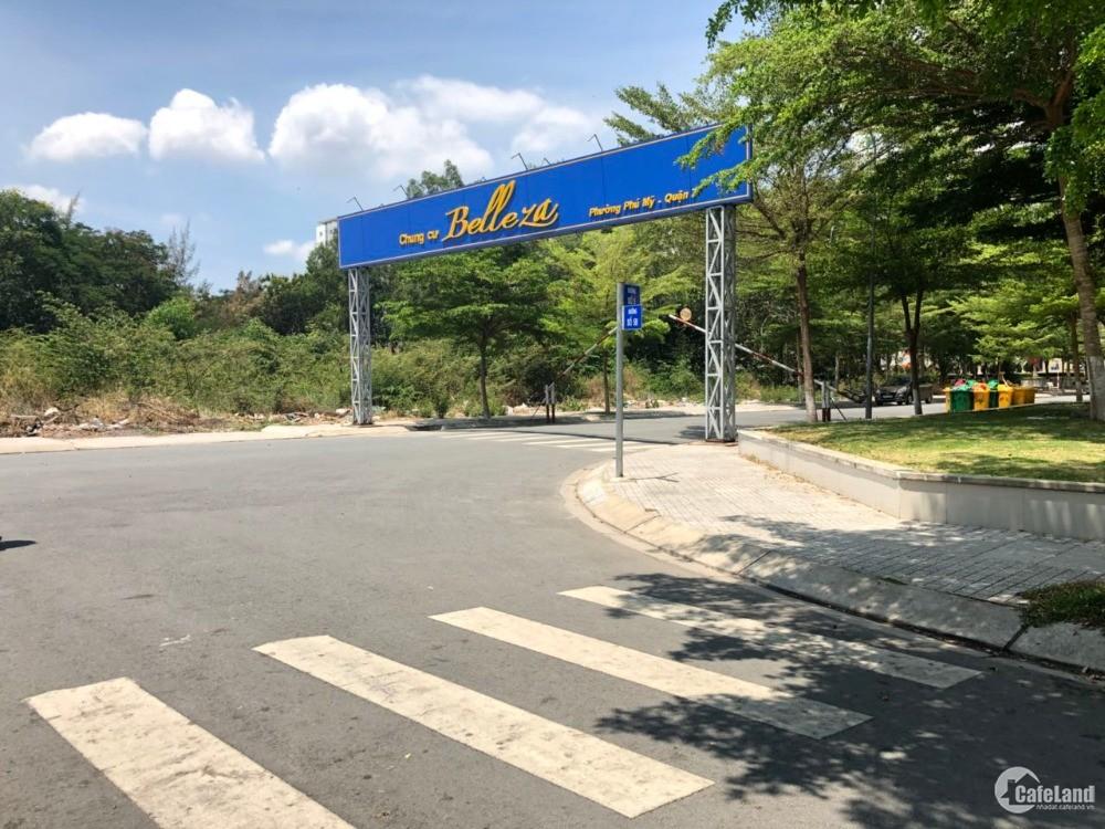 Lô nhà phố Phú Mỹ Chợ Lớn 5x21.5 giá 63triệu/m2, hướng Đông, đường 20m thông