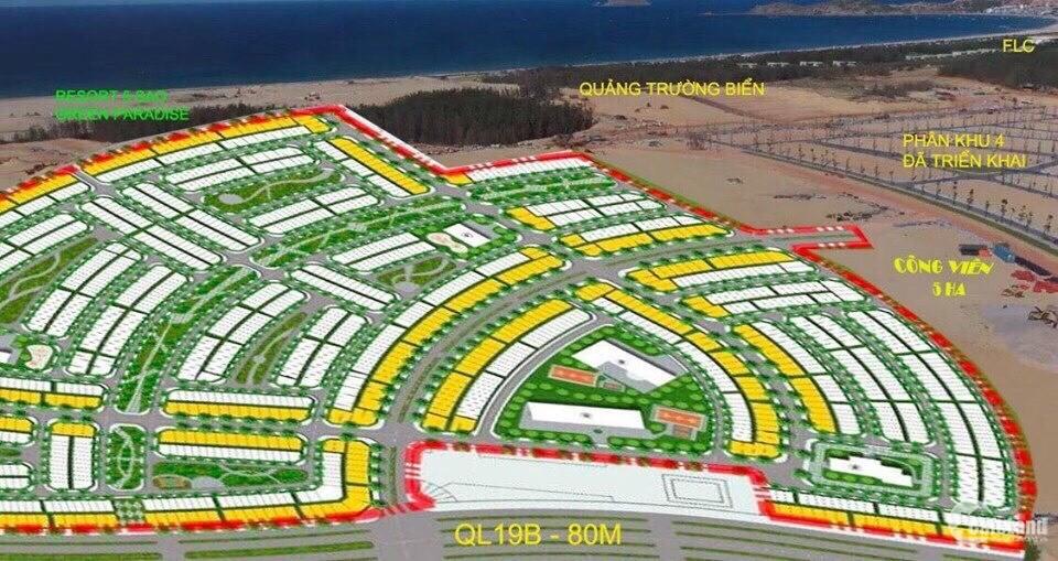 Dự án NHƠN HỘI NEW CITY - Đất nền ( có sổ )