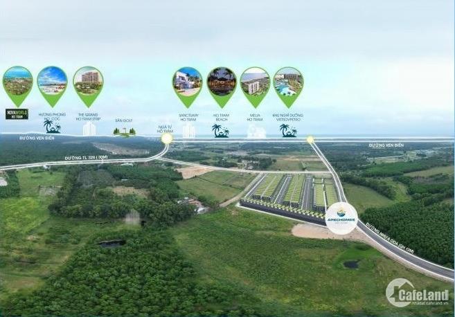 Apechome Hồ Tràm, Giá chỉ từ 7,6tr/m2, đã có SHR đầu tư sinh lời cực tốt.
