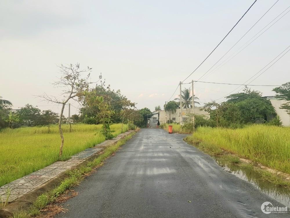 [CHÍNH CHỦ] Bán lô đất 99m2, đối diện KCN Thuận Đạo, ấp 3, Long Định, Cần Đước.