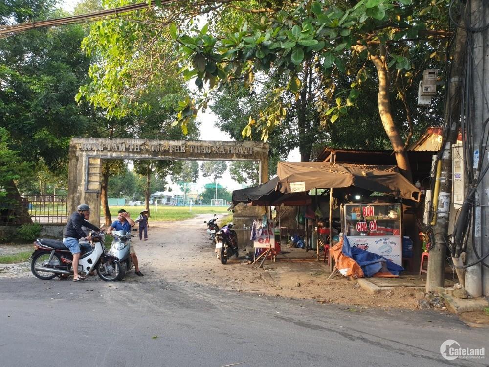 Bán nhanh lô đất đẹp Hòa Tiến gần ngay đường 605, sau lưng Bưu điện Dương Sơn