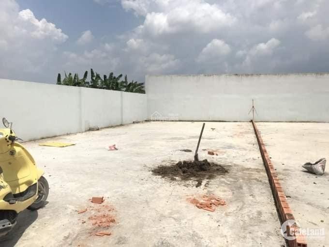 Bán đất mặt tiền đường Tân Liễu, huyện Bình Chánh, 186m2, giá 3 tỷ 3