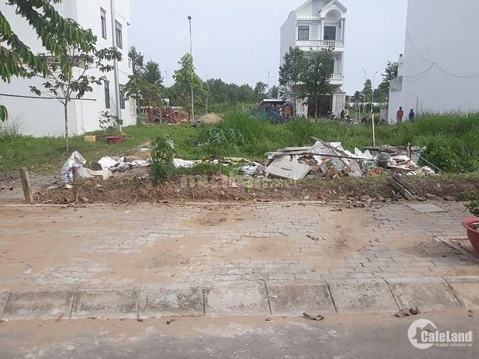 Đất sổ riêng( có sẵn), MT Quang Trung(hóc môn) 790tr/98m2-thổ cư, hình chụp thực