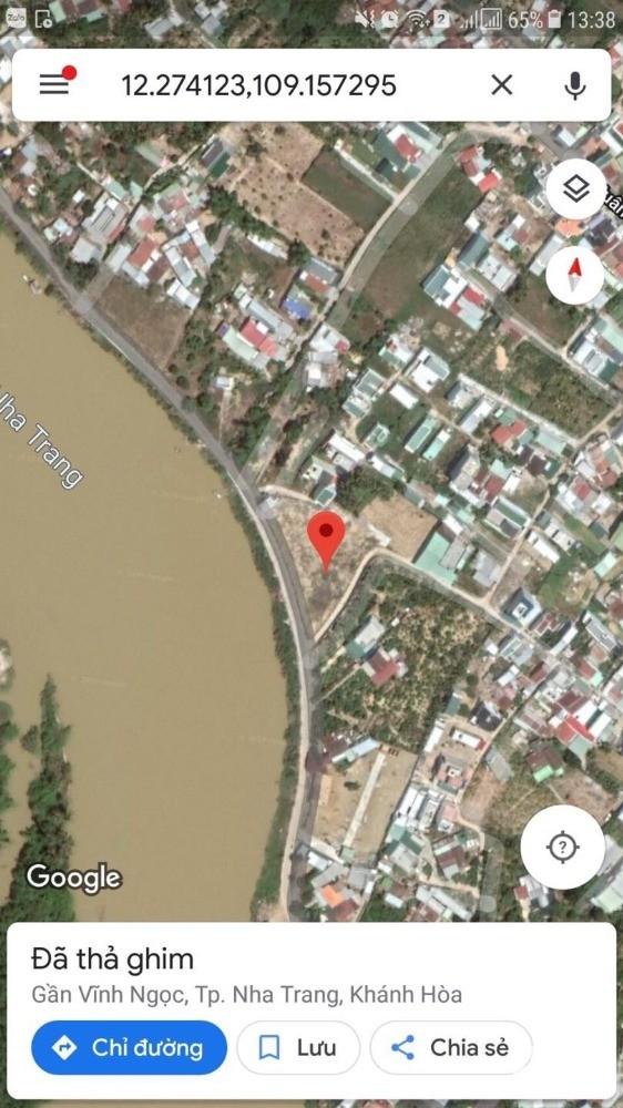 Bán mảnh đất đẹp đối diện Sông Cái mặt tiền đường Liên Hoa 17tr/m2