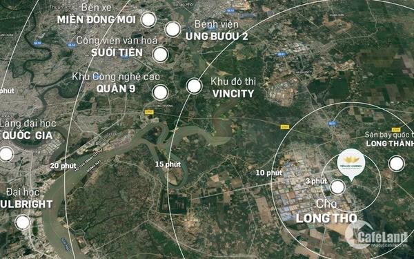 CHỈ THANH TOÁN 750 triệu/SỞ HỮU ĐẤT NỀN NHÀ PHỐ 5x18 Tiến Lộc Garden