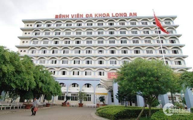 Cần tiền kinh doanh, bán gấp nền đất trong khu dân cư IDICO, phường 6,Tân An