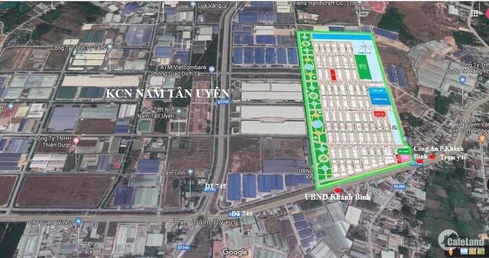 City Land Bình Dương-vị trí vàng giữa ngàn tiện ích, dt đa dạng, giá F0