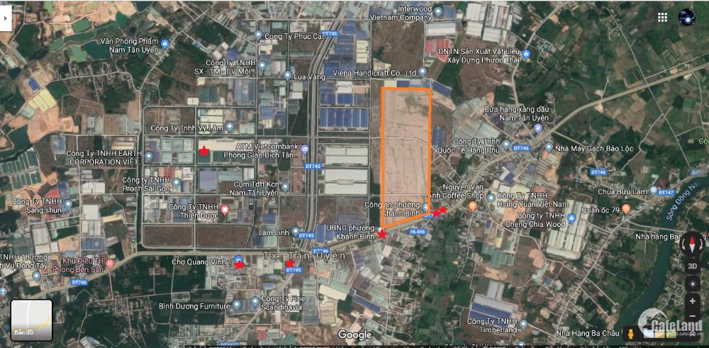 City Land Bình Dương-vị trí vàng giữa ngàn tiện ích, nằm ngay trung tân Tân Uyên