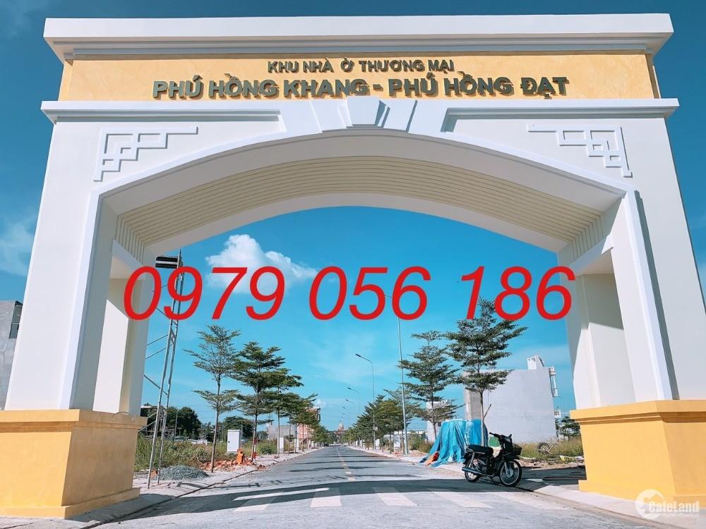 Hàng hiếm ngay dự án Phú Hồng Khang DT 60m2 1tỷ8 ngay KCN Vsip1 Thuận An