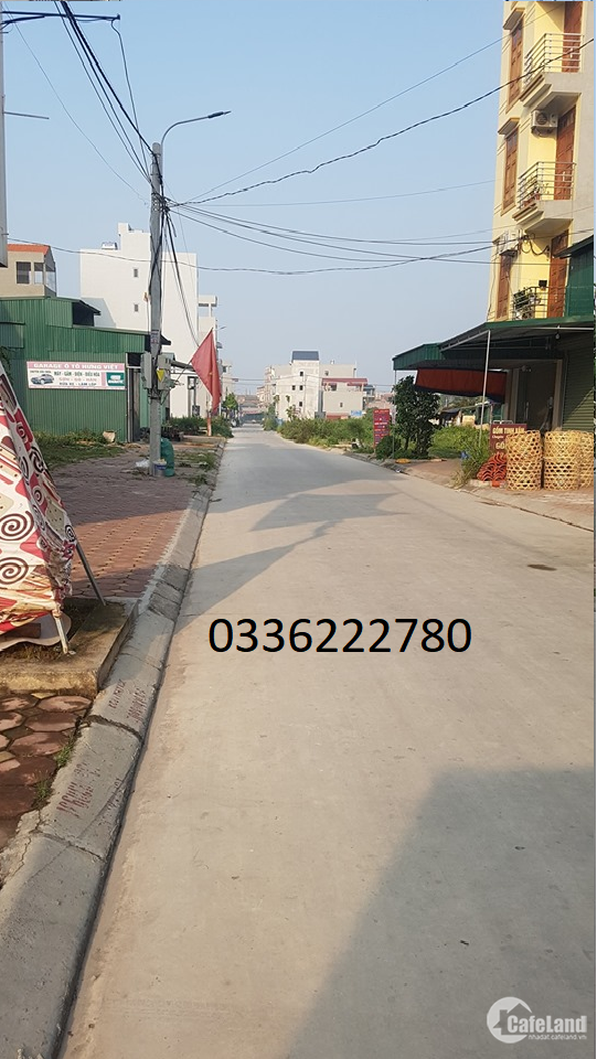 Bán 40m2 dịch vụ liền kề, đường vỉa hè Chiêm Mai - Xuân Quan - Hưng Yên.