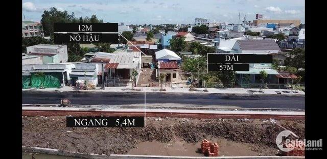 Bán 546 M2 Đất Mặt Tiền Bờ Hồ Bún Xáng