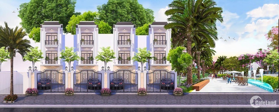 Nhà phố Biệt lập 1 trệt 2 lầu trung tâm Dĩ An, giá bán 3.1 tỷ, chiết khấu 3%