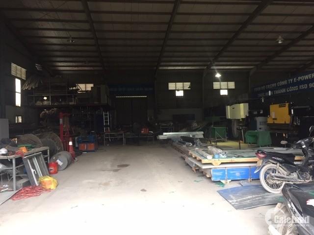Cho thuê kho xưởng DT 580m2,770m2 An Khánh Hoài Đức Hà Nội.