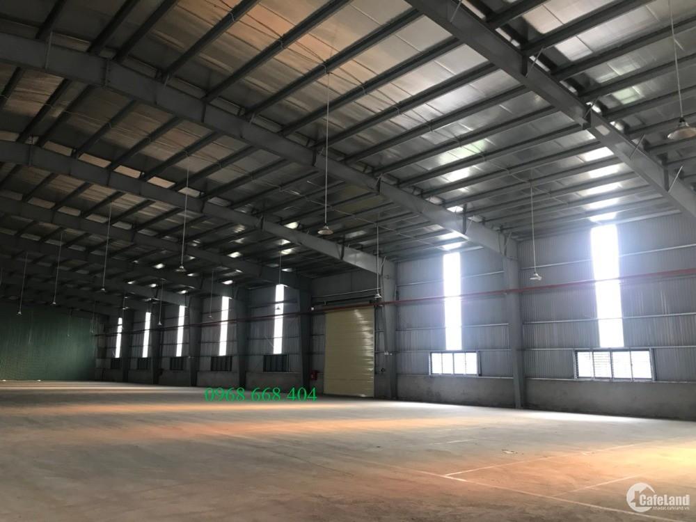 Cho thuê nhà xưởng tại KCN Thuận Thành 3 Bắc Ninh 2000m2 giá chỉ từ  3$/m2.