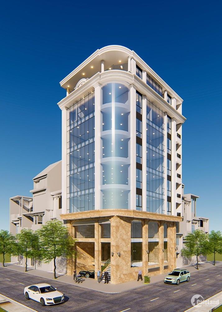 Cho thuê nhà phố Trần Quốc Hoàn – Cầu Giấy , DT 185m, 5 Tầng, Giá 8500 Đô