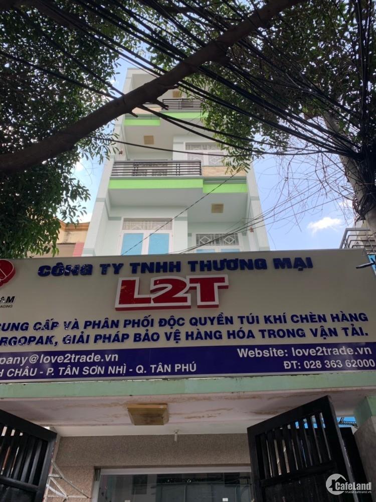 Cho thuê nhà mặt tiền Diệp Minh Châu, Tân Phú