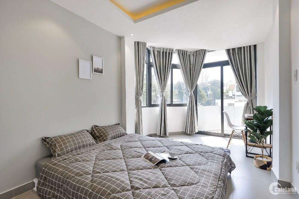 Phòng dịch vụ Q1, thiết kế sang trọng, hiện đại, full nội thất, giá rẻ