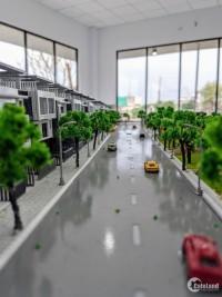 Nhà phố ven sông vàm cỏ đông, 1 trệt 2 lầu và sân thượng