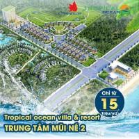 khu biệt thự giá rẻ 15tr/m2 tại Mũi Kê Gà, Hàm Thuận Nam