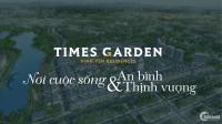Lô biệt thự xây thô đã có sổ đỏ tại dự án Times Garden - Khai Quang - Vĩnh Yên.